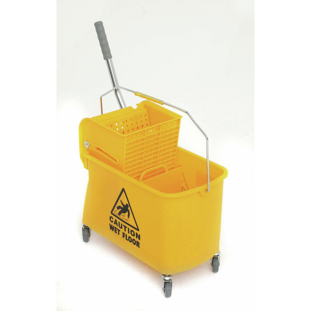 21 Qt. Mop Bucket with Wringer for small jobs.