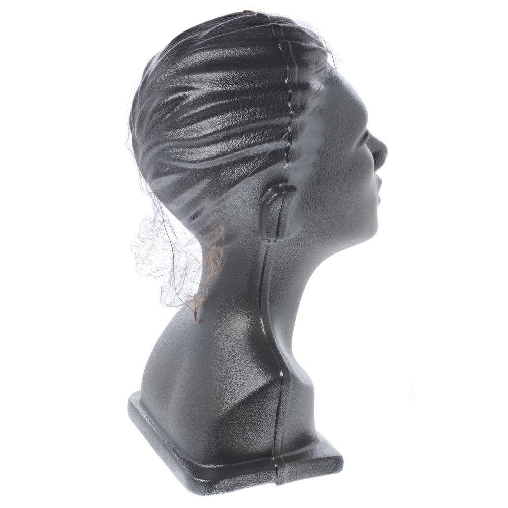 Invisible Hair Net Stays in Place with Elastic Band|Invisible Hair Net Stays in Place with Elastic Band|Invisible Hair Net Light Brown Latex Free Nylon
