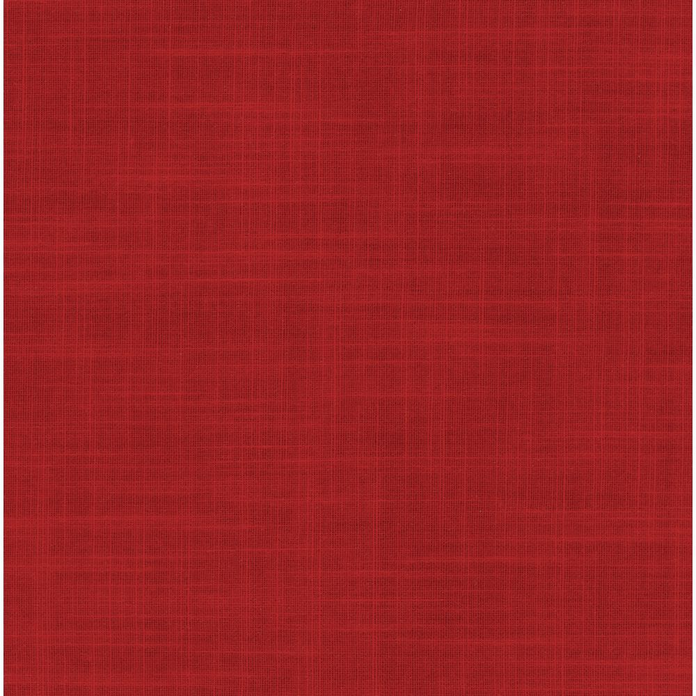 225 & Americo Square Ruby Red Vinyl Table Cover - 52\