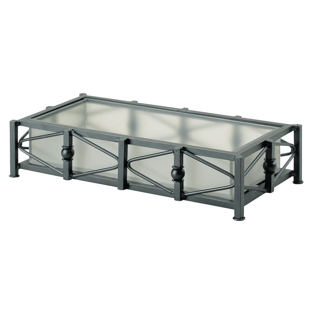 10 x 5 x 2 1/2 Cal Mil Condiment Organizer for Any Buffet Use