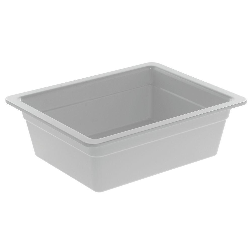 "PAN, 1/2 SZ.4""D, WHITE, MELAMINE"