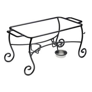 FRAME, CHAFER WROUGHT IRON