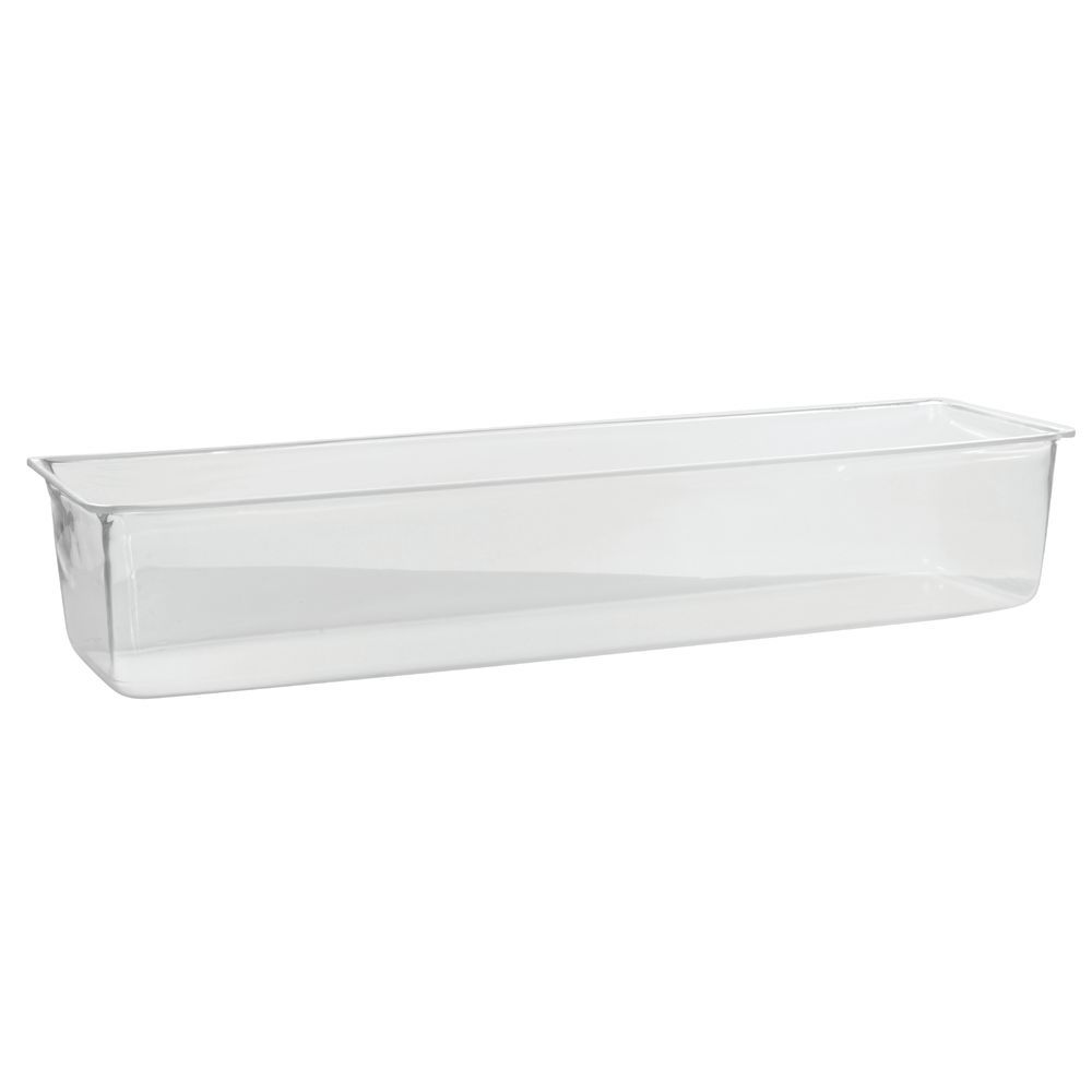 Rectangular Clear Acrylic Ice Bin 24 1 4 L X 6 1 2 W X 5 H