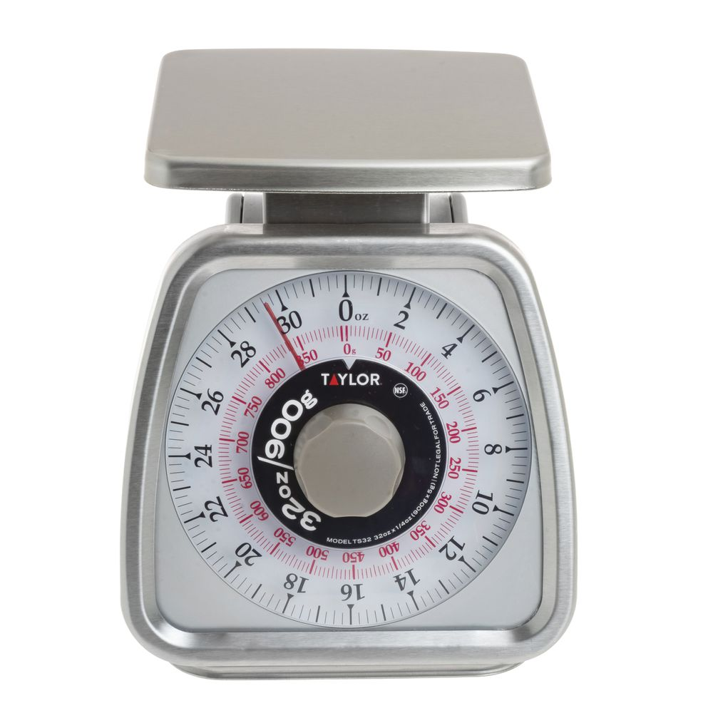 Manual Scale with Shatterproof Plastic Lens