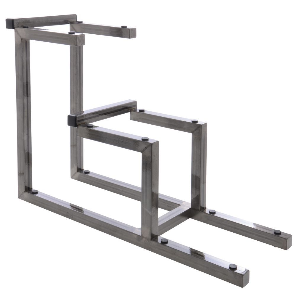 Expressly HUBERT® Galvanized Chic Collection 3-Tier Rack - 8