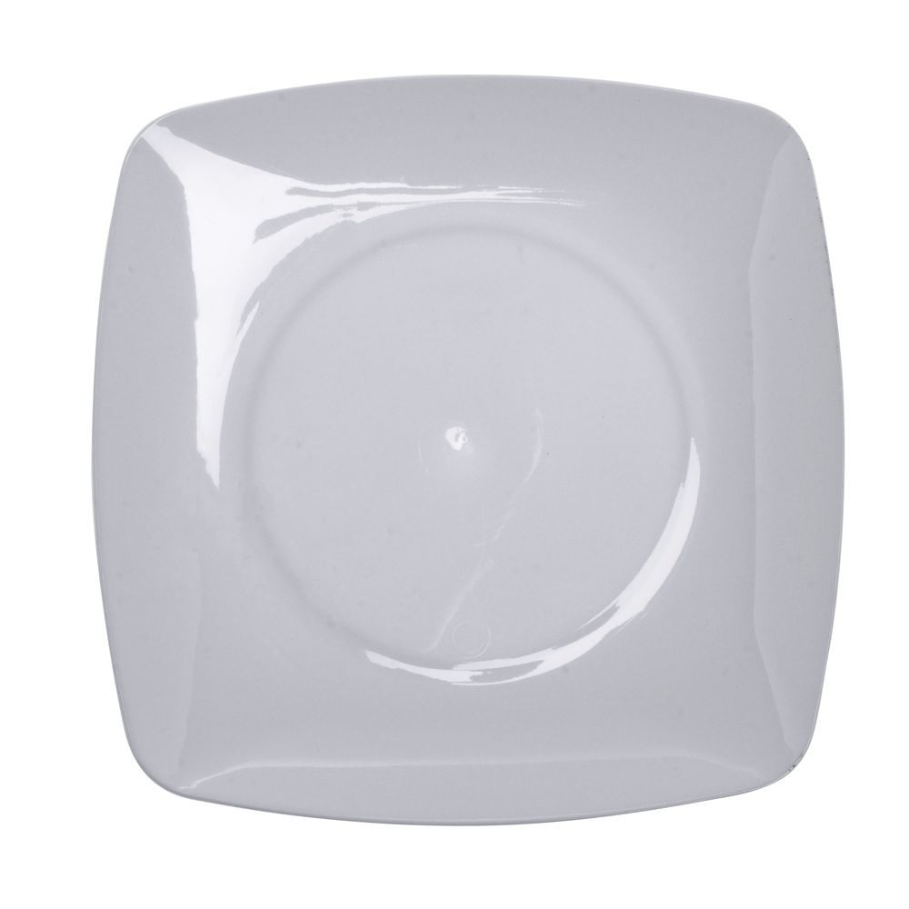 Fineline Settings Renaissance Square White Plastic Disposable Plate - 5 1/2Sq  sc 1 st  Hubert.com & Fineline Settings Renaissance Square White Plastic Disposable Plate ...
