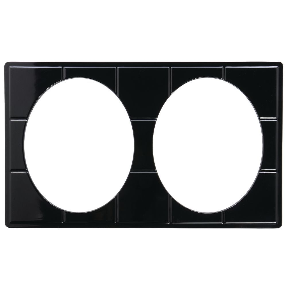 TILE TRAY, FS, BLACK, W/2 CUTS FOR#93023