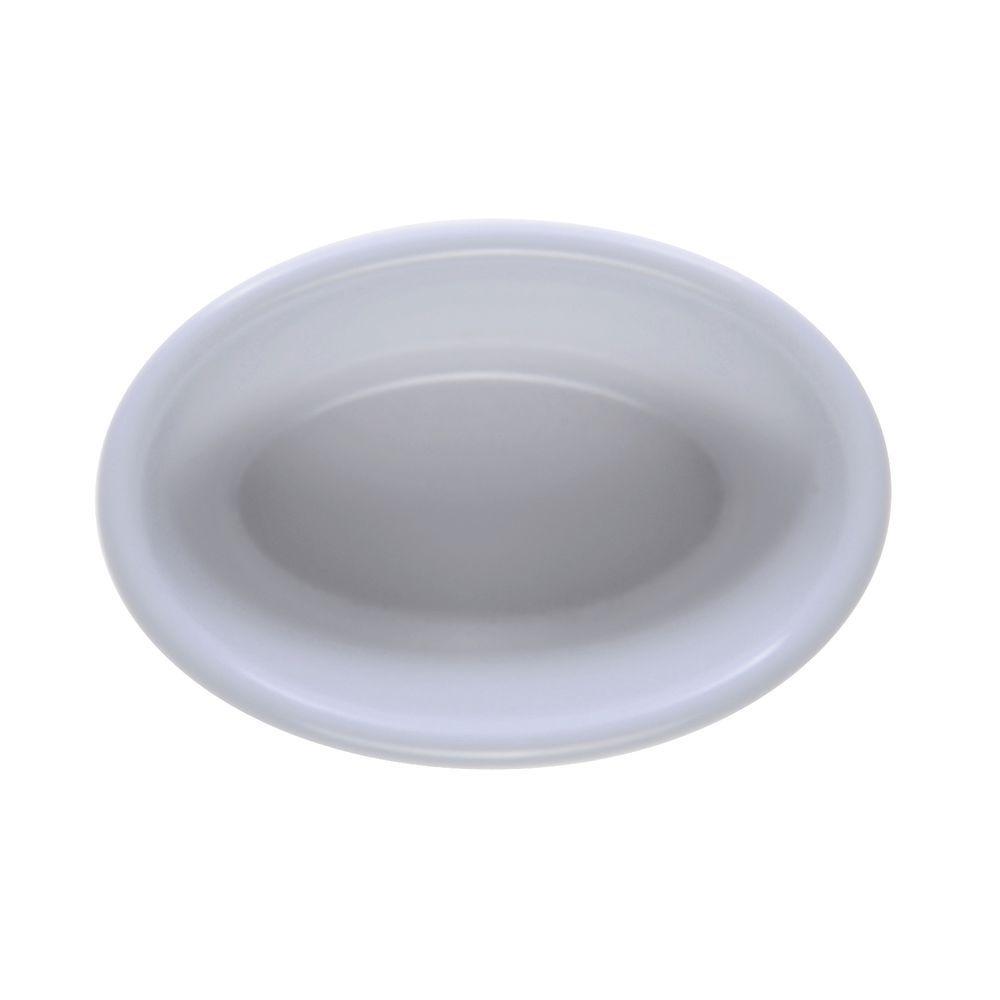 RAMEKIN, OVAL, MELAMINE, 4 OZ, WHITE