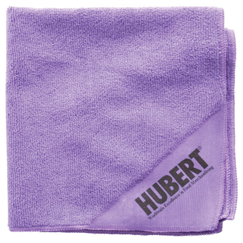 WIPE, MICROFIBER, PURPLE, 16X16, 12/PACK