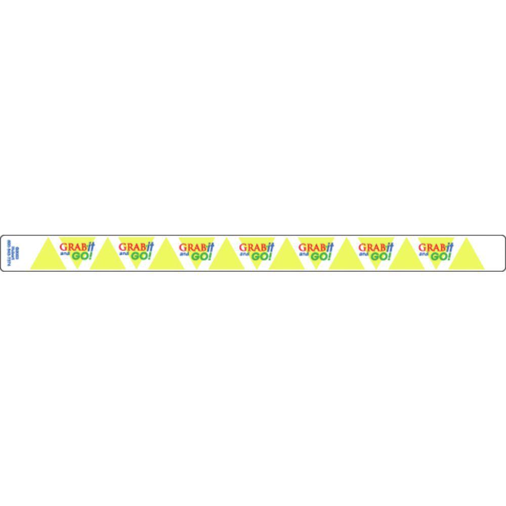 """Merchandising Bandit Labels Grab It + Go 13 3/4""""L x 1""""H"""