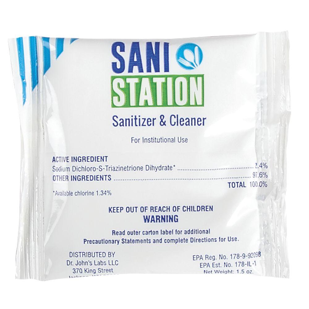SANITIZER, 1.5 OZ PACKET, BX/100