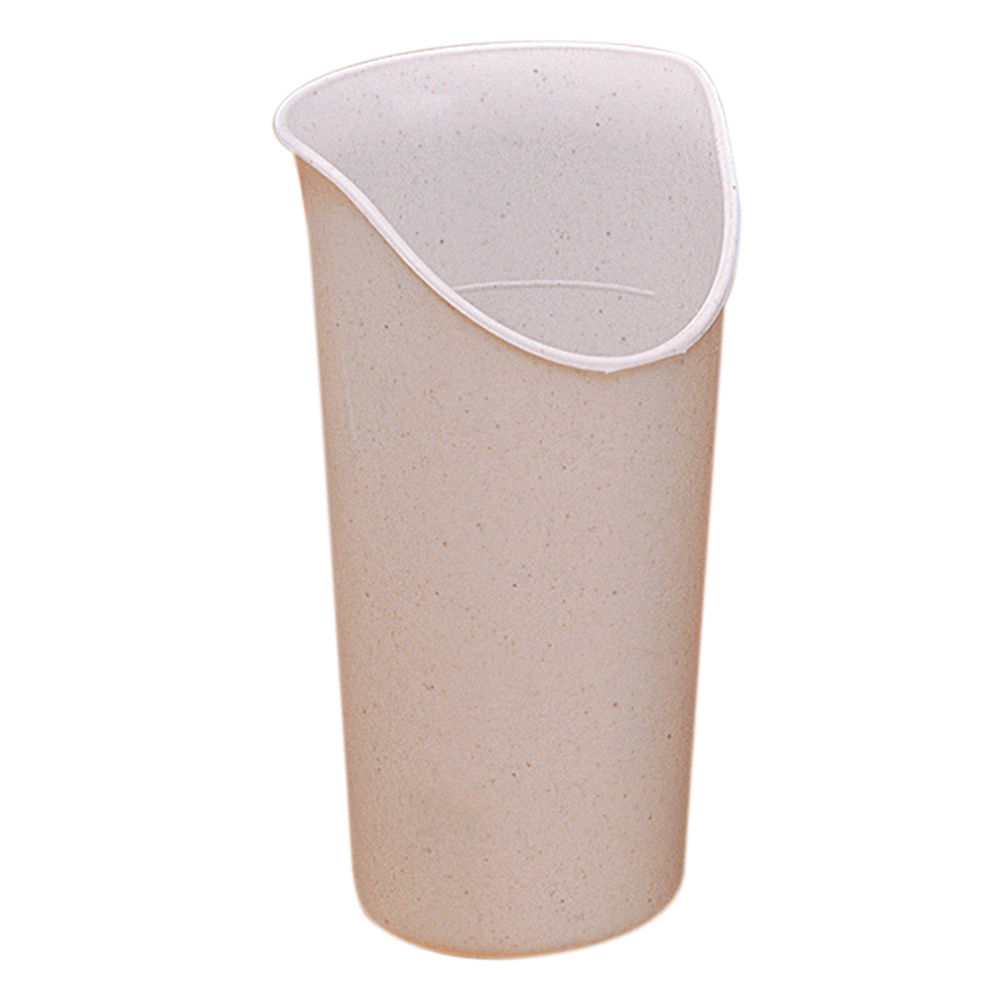 CUP, NOSEY, 8OZ, SANDSTONE, PK OF 6