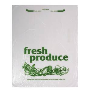 BAG, PRODUCE, ROLL, 12 X 15 GREEN