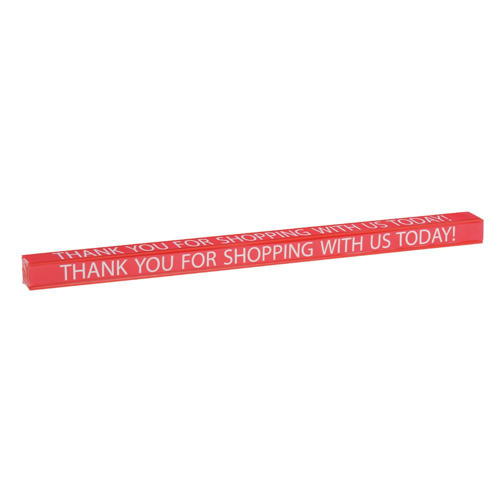 "LANE DIVIDER, CHECKOUT, 16""L ""THANK YOU"""