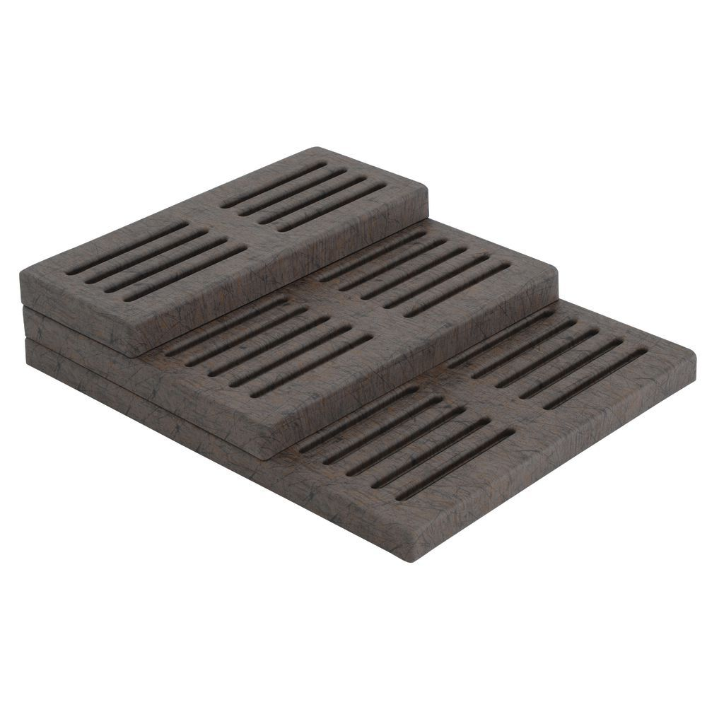 RISER, SLOTTED, URBAN, 24X10X2, TOP