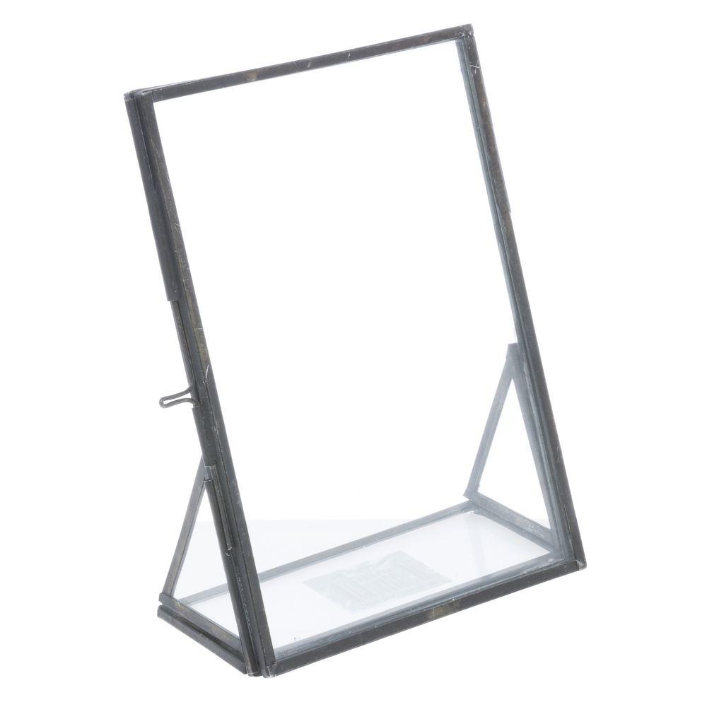 Black Metal Frame - 5L x 2 1/4D x 6 3/4H