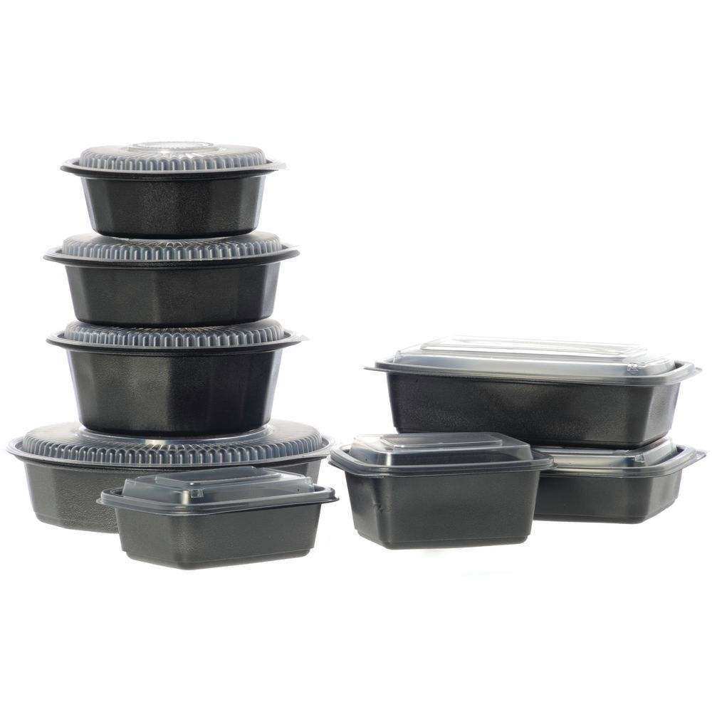 CONTAINER, 24 OZ, RECT. MICROWAVE SAFE