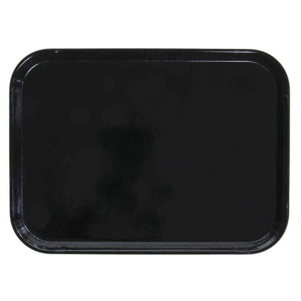 "Cambro Camtray Rectangular Trays Black Fiberglass 16""L x 12""W"
