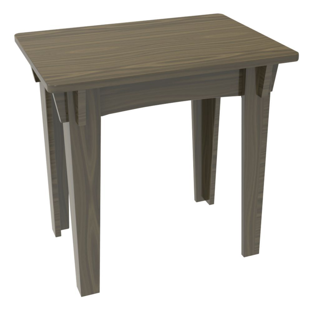 CO TABLE, NESTING, MED, 25X18X24.1875H, WTHR