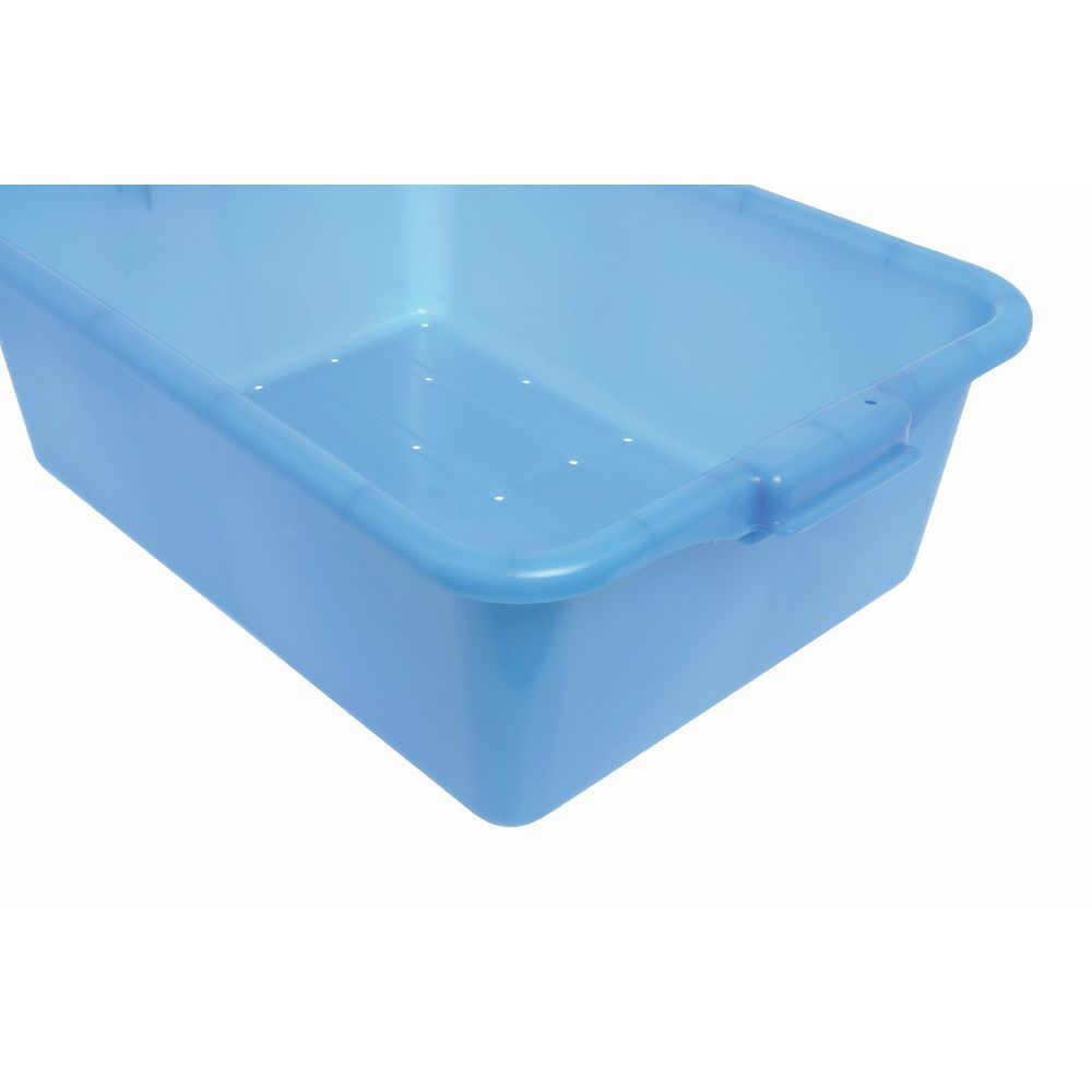 """Food Boxes Perforated 20""""L x 15""""D x 7""""H Blue"""