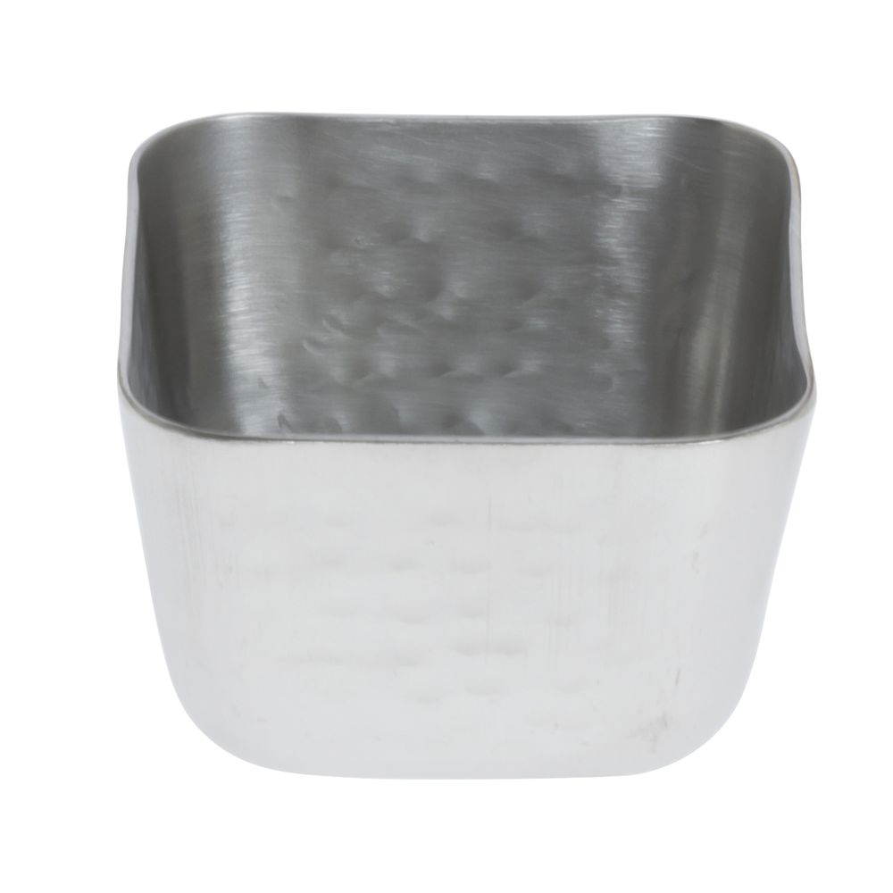 American Metalcraft Square Hammered Sauce Cup 2.5 Ounces