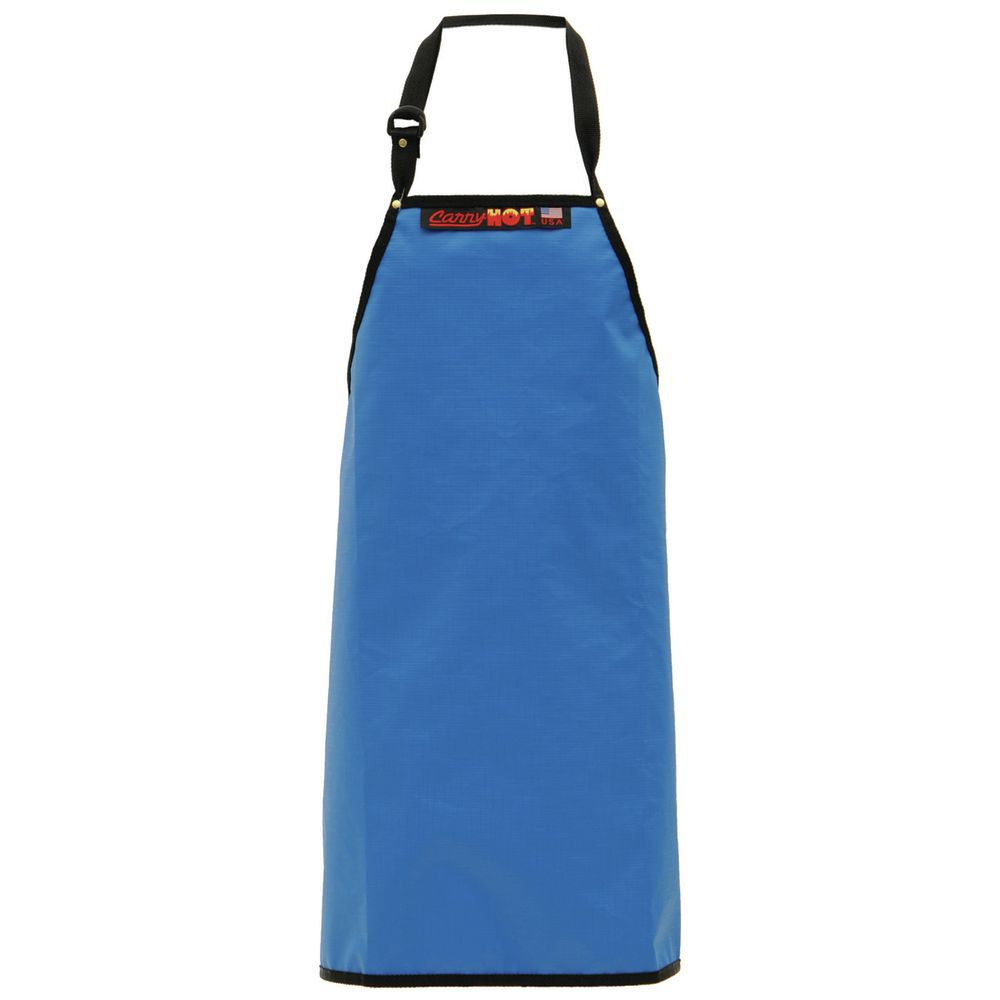 "APRON, RESIN, LAMINATE, BLUE, 32""L, ADJ.NECK"