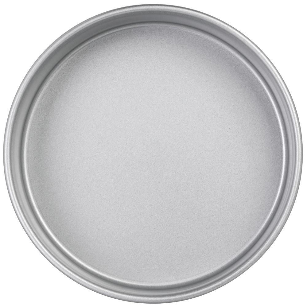 PAN, CAKE, 7X2, ALUM.STEEL W/SILICONE GLAZE