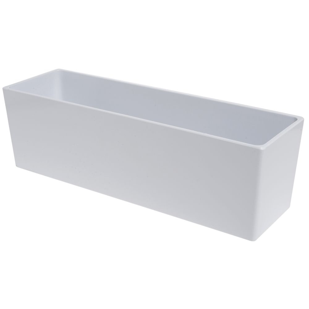 PAN, MODULAR, 19.38X5.88X6, BRIGHT WHITE