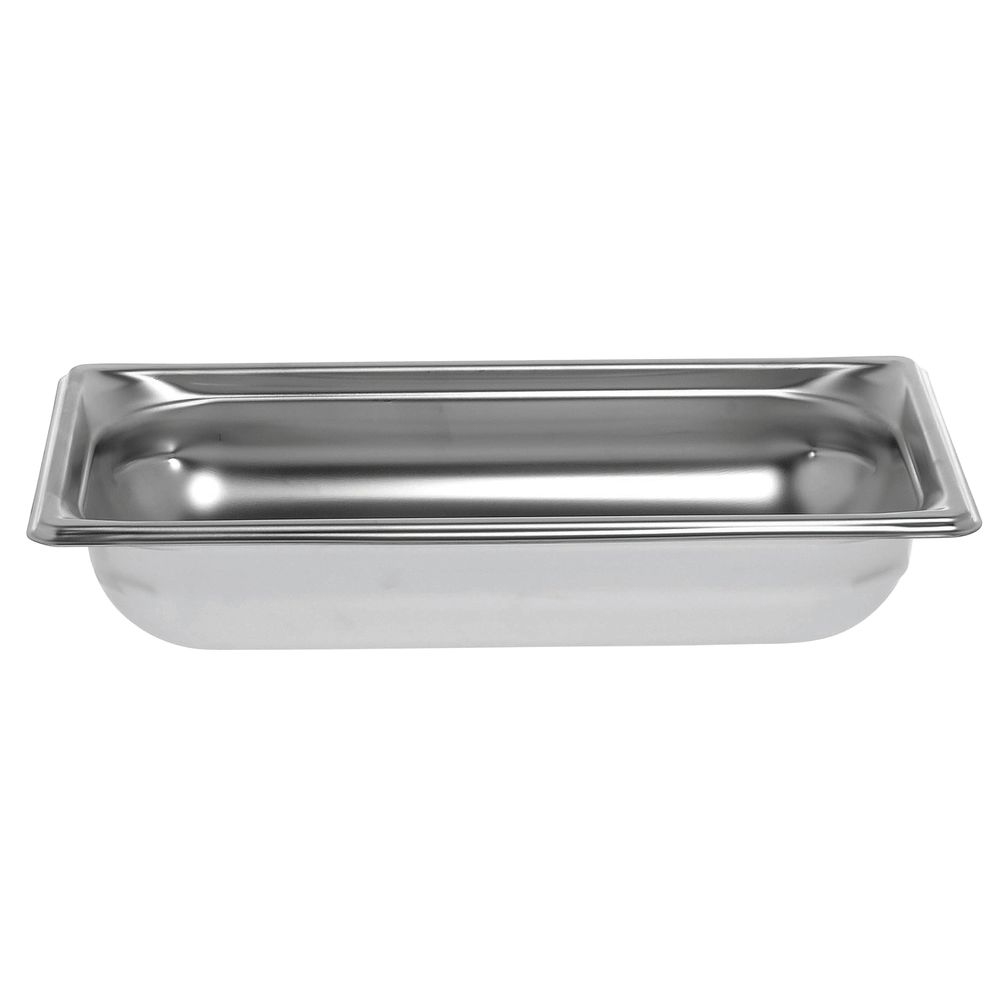 "Vollrath® Super Pan 3® Stainless Steel Pan 1/3 Size 2 1/2""D"
