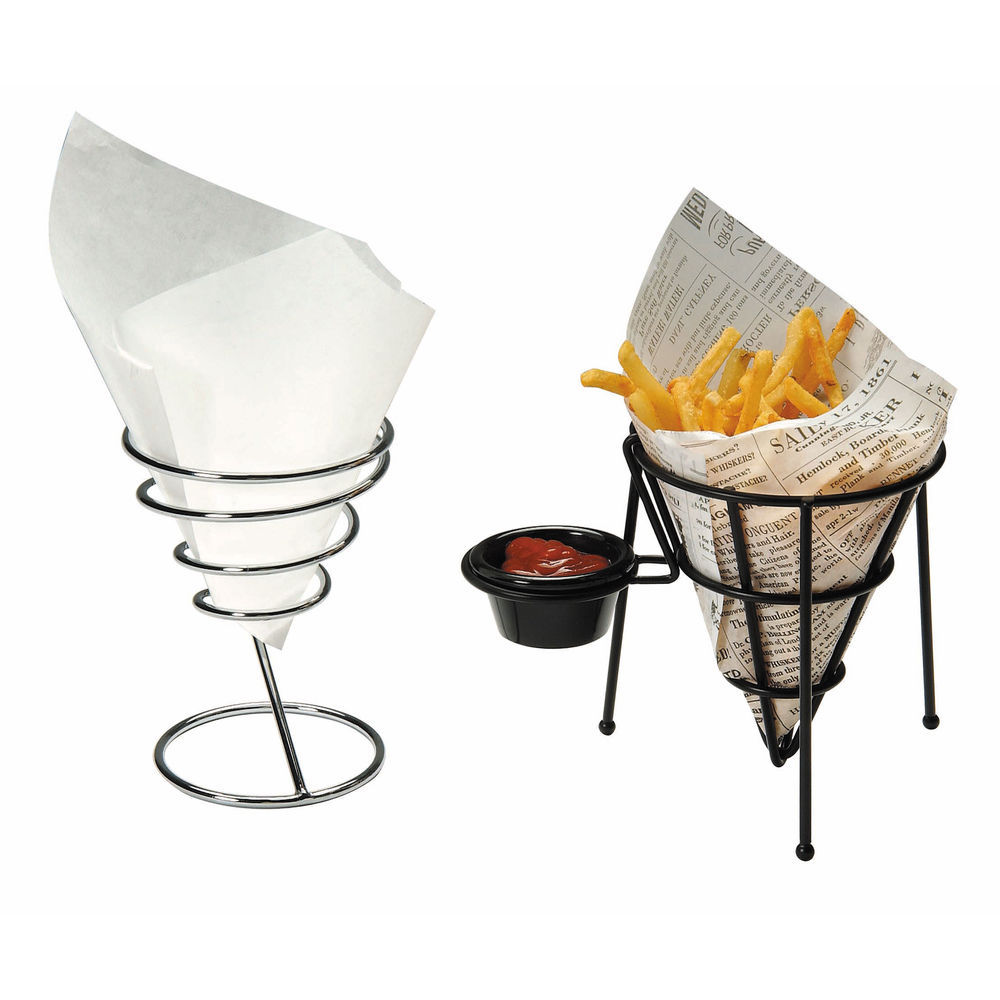 White Food Basket Liners