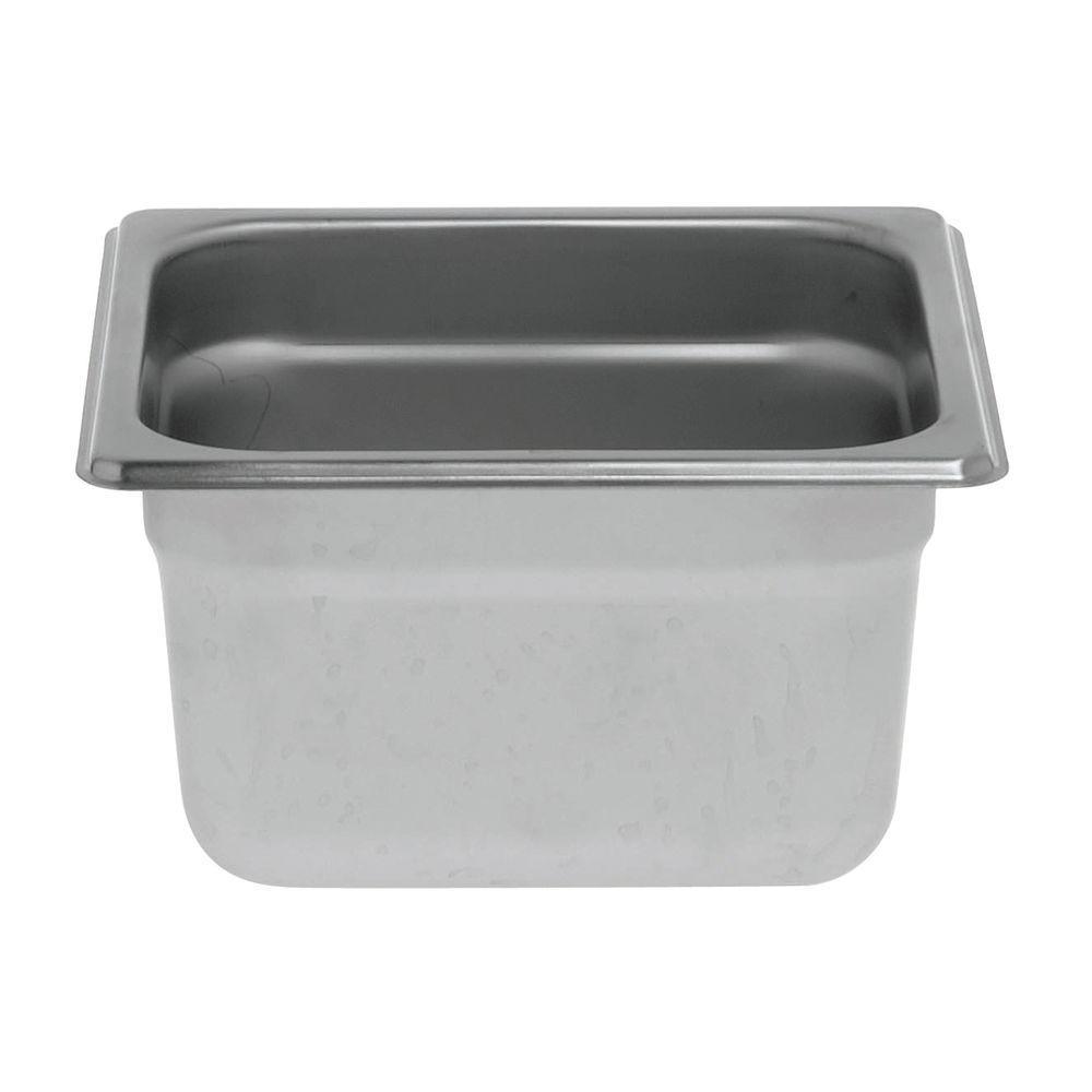 """Hubert® Steam Table Pan 1/6 Size 4""""D"""