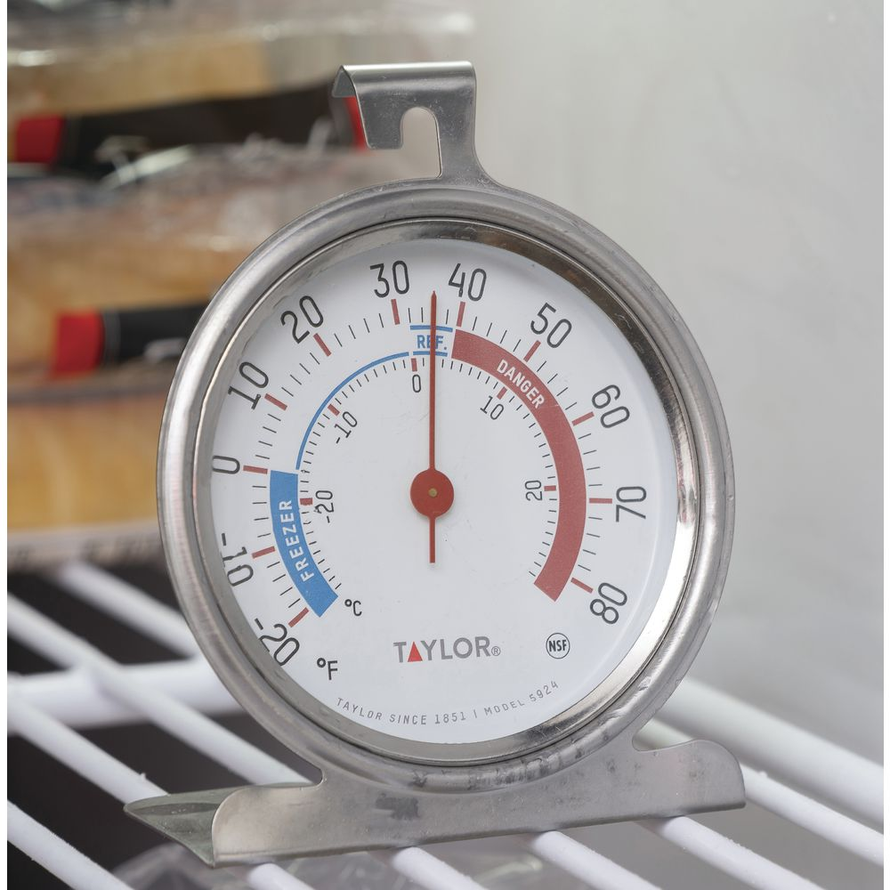 taylor fridge and freezer thermometer