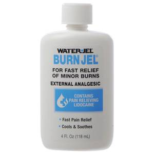 BURN, JEL, WATERJEL, 4 OZ.BOTTLE