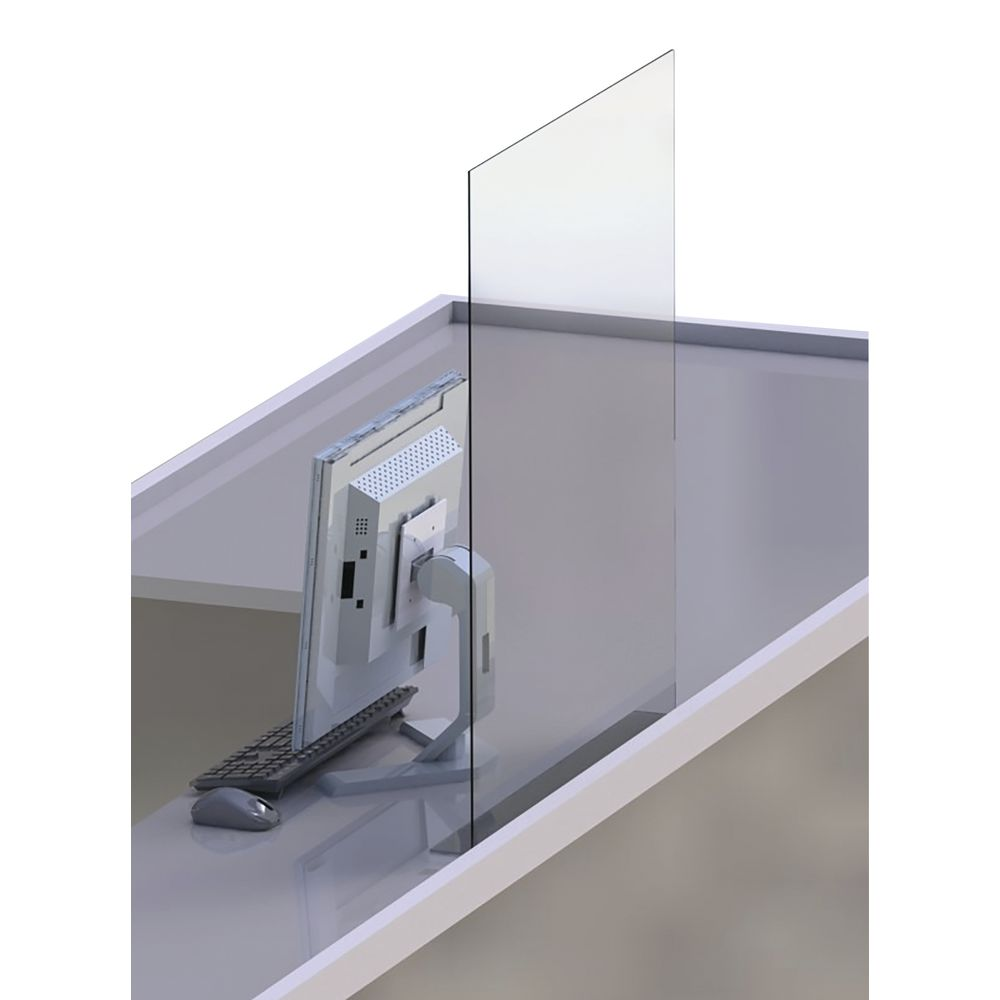 Clear Acrylic Counter Safety Shield