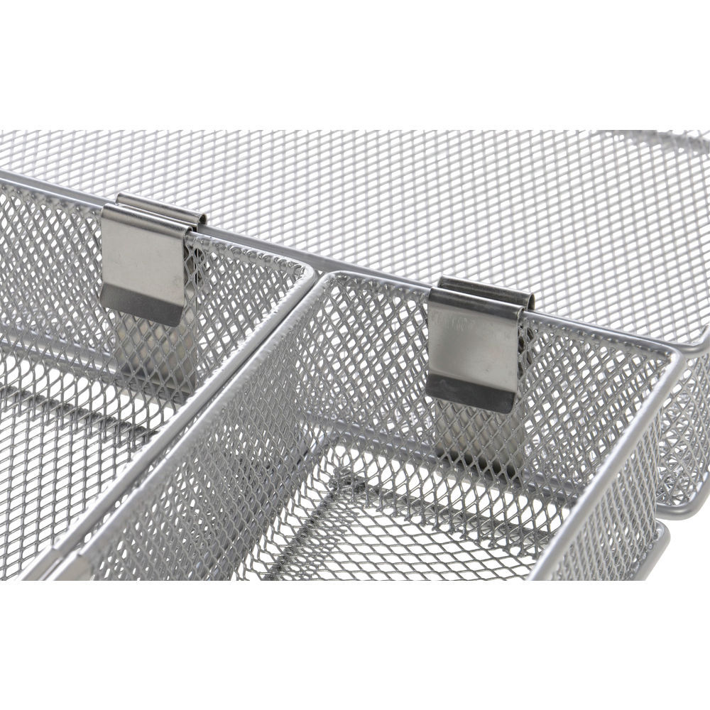 Steel Connecting Clips For Mesh Baskets 8/Set
