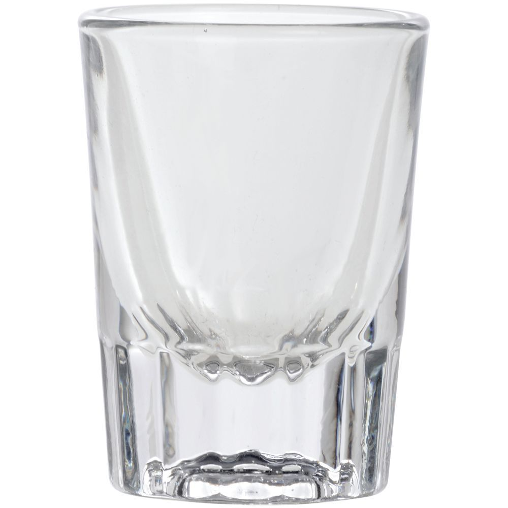 Glass Shot Fluted 2 Oz