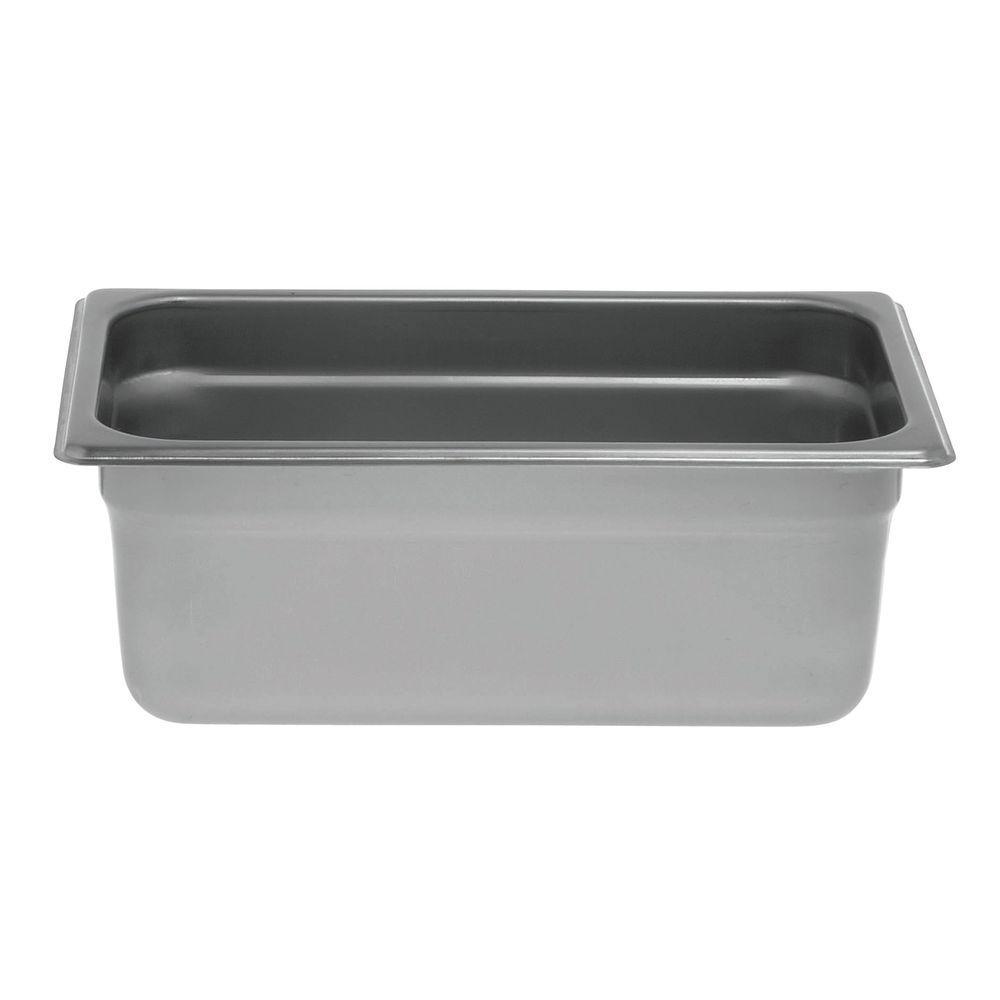 """Hubert® Steam Table Pan 1/4 Size 4""""D"""