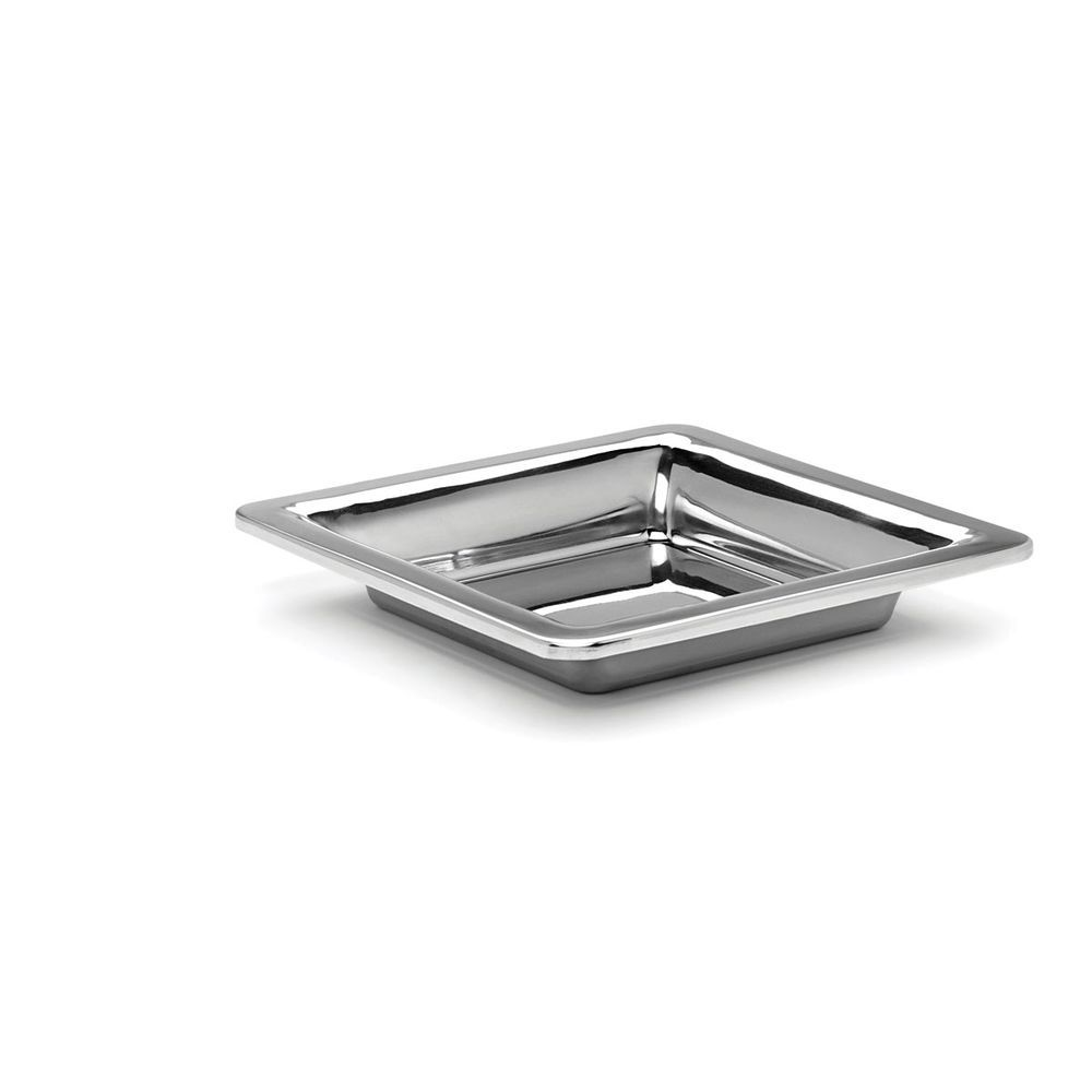 """Bon Chef Hot Solutions Stainless Steel Display Tray 12""""L x 12""""W x 2 1/2""""H"""