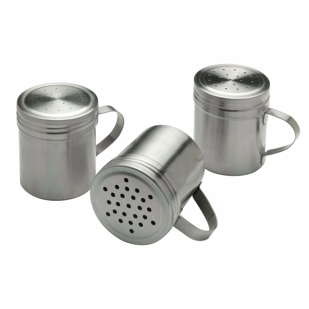 DREDGE, STAINLESS 18-8, 1 MM HOLES, 10OZ