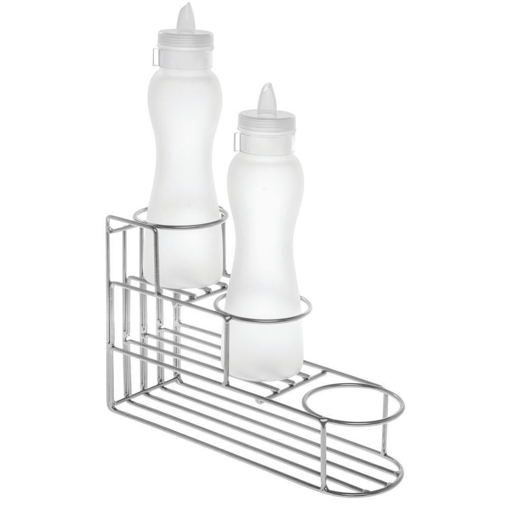 expressly hubert 3 step silver metal wire bottle holder 13 1 2 l Baby Pacifier holder silver bottle wire 3 step