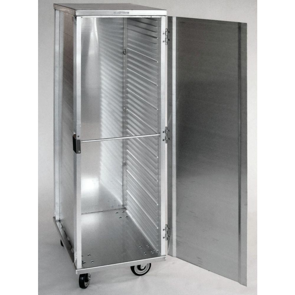 Hubert 174 Aluminum Full Size Enclosed Pan Rack 27 Quot L X 21 Quot W