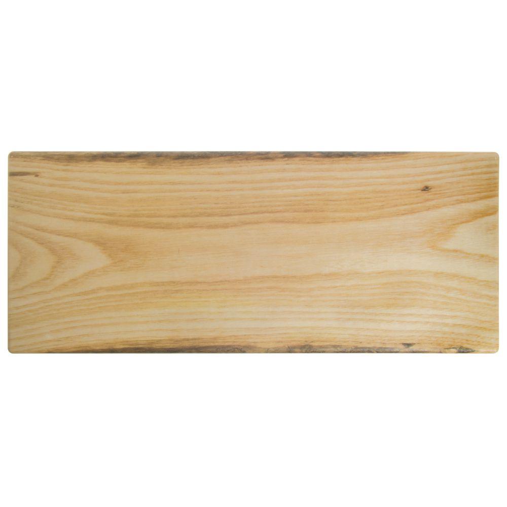 Expressly HUBERT® Display Riser 10L x 23 1/2W x 2H Brown Melamine/Bamboo