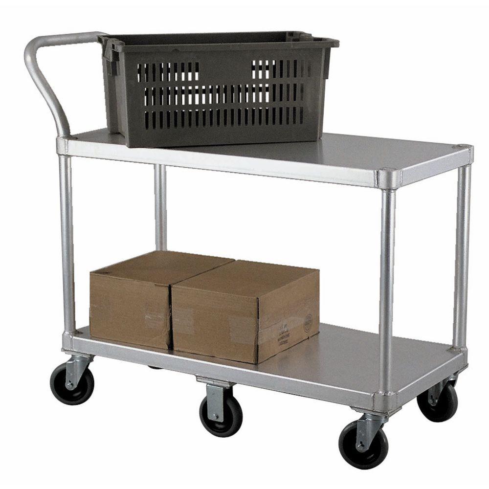 New Age Aluminum Produce Stocking Cart