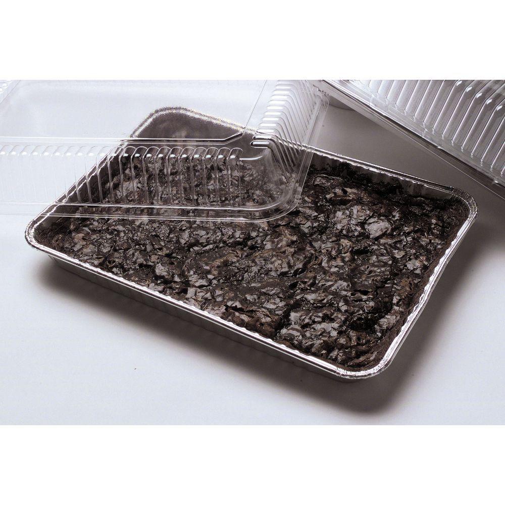 PAN, 1/4 SIZE SHEET CAKE, ALUMINUM