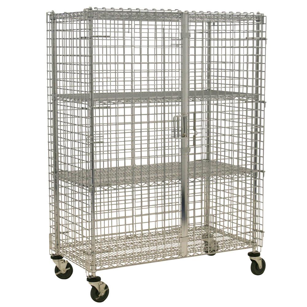 60b9b9bdae1 Technibilt Wire Mobile Security Cart - 36