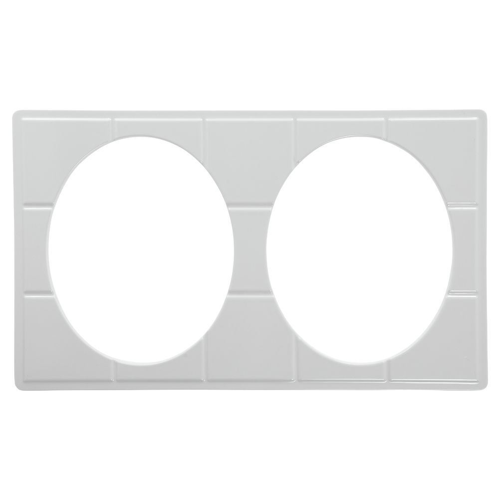 TILE TRAY, FS, WHITE, W/2 CUTS FOR# 93023