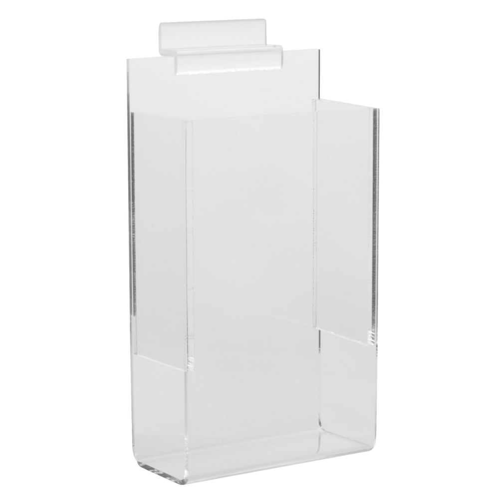 571f46af8232 Aarco Clear Acrylic Brochure Holder For Slatwall Style Display - 4