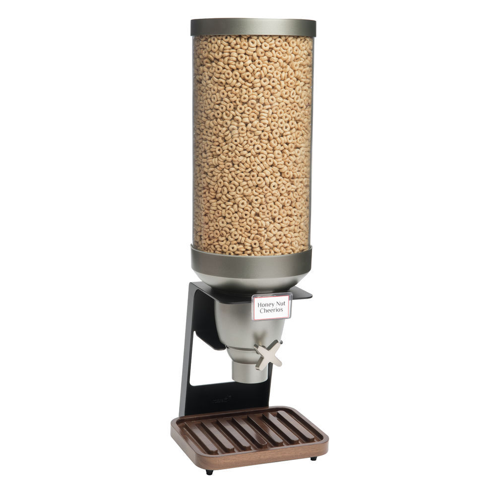 DISP, 1-CONTAINER, 3.5GAL, WALNUT BASE