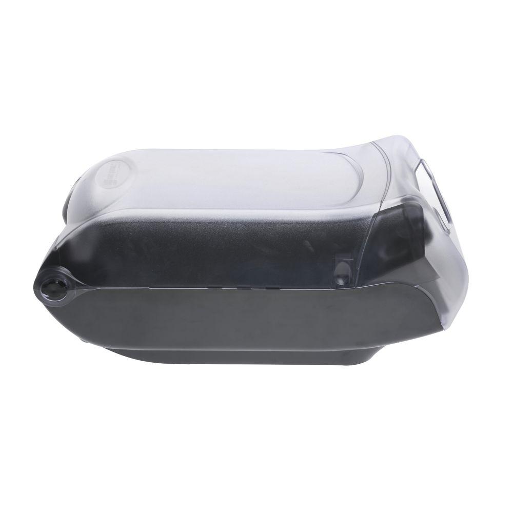 "10/""L x 8/""W x 7 7//8/""H San Jamar ABS Plastic Double Sided Bulk Straw Dispenser"