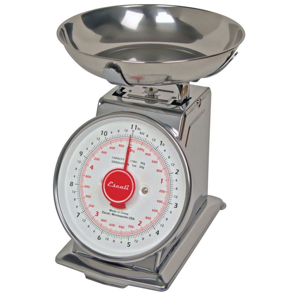 SCALE, MECHANICAL WITH BOWL, 11 LB